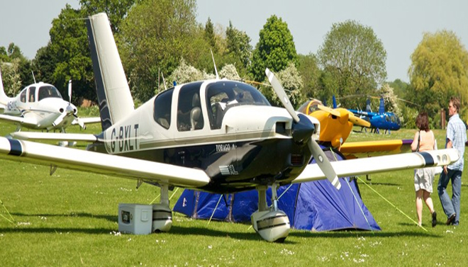 Camping under-wing