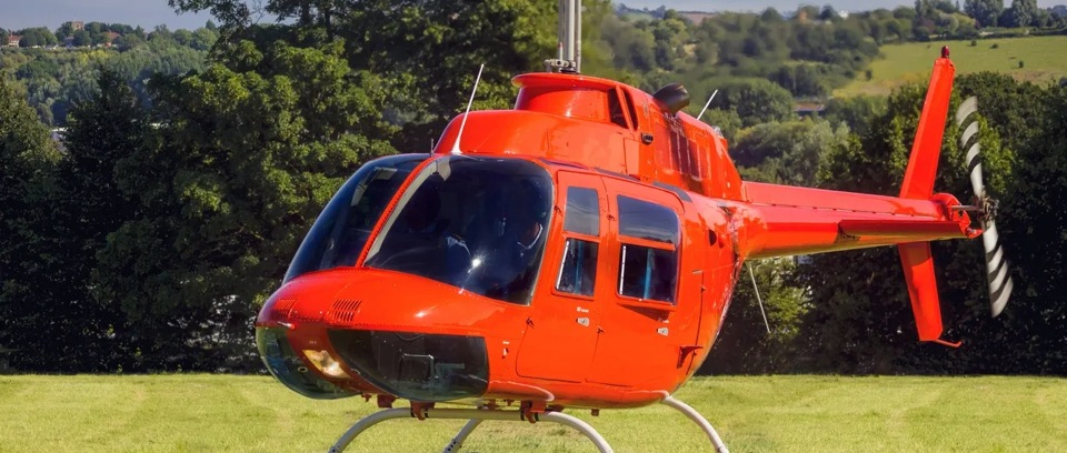 Commercial aviation helicopter