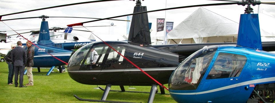 Exhibiting options at RotorTech UK