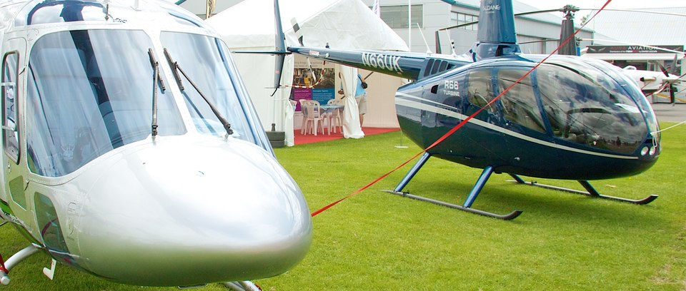 The latest Robinson helicopters