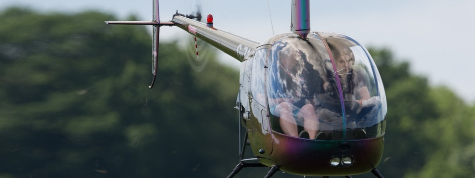 Helicopter pilot training