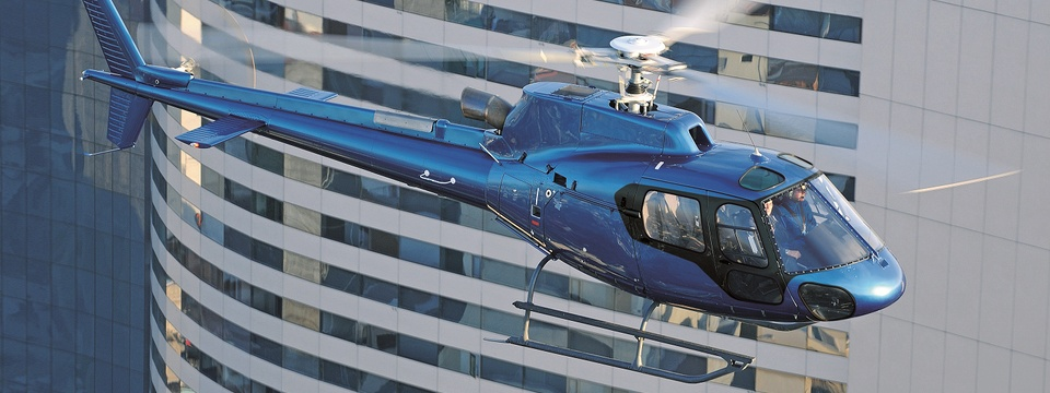 Private & Corporate helicopters on display